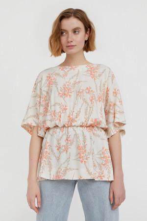блуза с цветочным принтом Finn-Flare